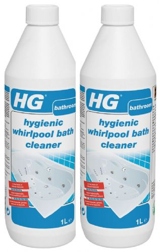 HG hygienic whirlpool bath cleaner  1000 ml pack of TWO